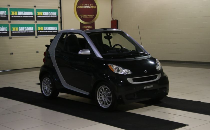 2012 Smart Fortwo CONVERTIBLE PASSION AUTO A/C GR ELECT NAV #0