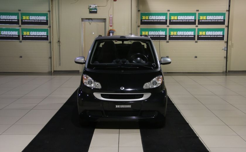 2012 Smart Fortwo CONVERTIBLE PASSION AUTO A/C GR ELECT NAV #1