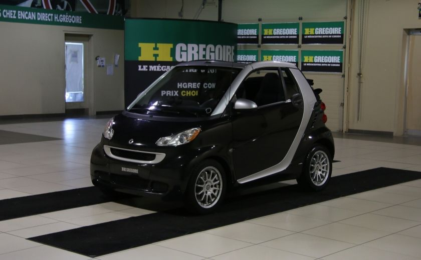 2012 Smart Fortwo CONVERTIBLE PASSION AUTO A/C GR ELECT NAV #2