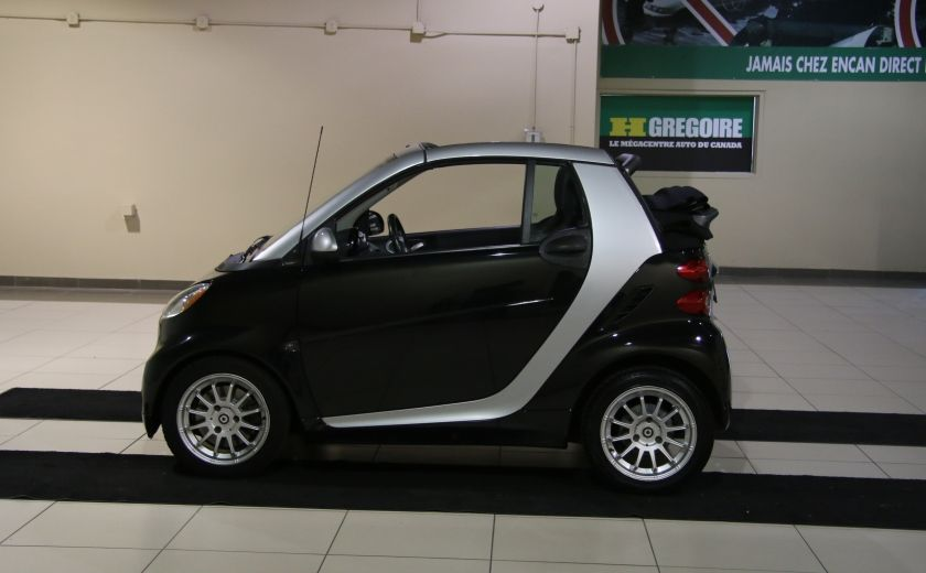 2012 Smart Fortwo CONVERTIBLE PASSION AUTO A/C GR ELECT NAV #3