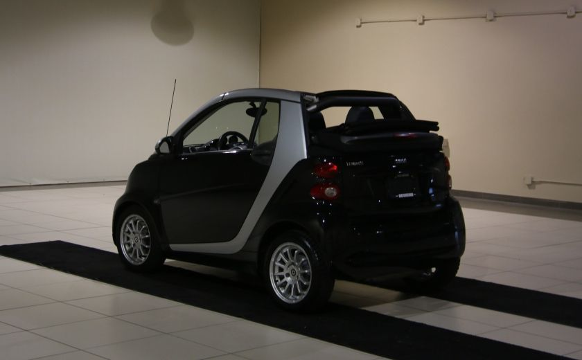 2012 Smart Fortwo CONVERTIBLE PASSION AUTO A/C GR ELECT NAV #4