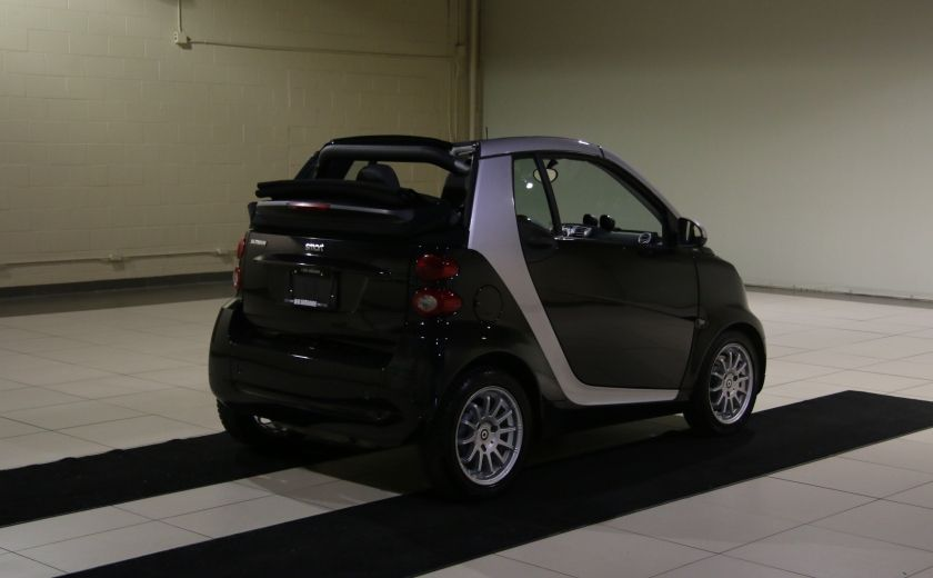 2012 Smart Fortwo CONVERTIBLE PASSION AUTO A/C GR ELECT NAV #6