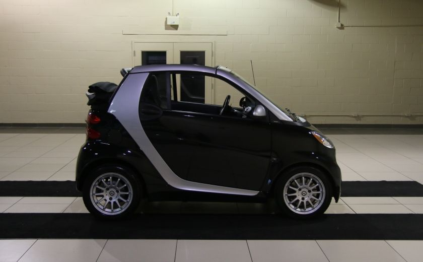 2012 Smart Fortwo CONVERTIBLE PASSION AUTO A/C GR ELECT NAV #7