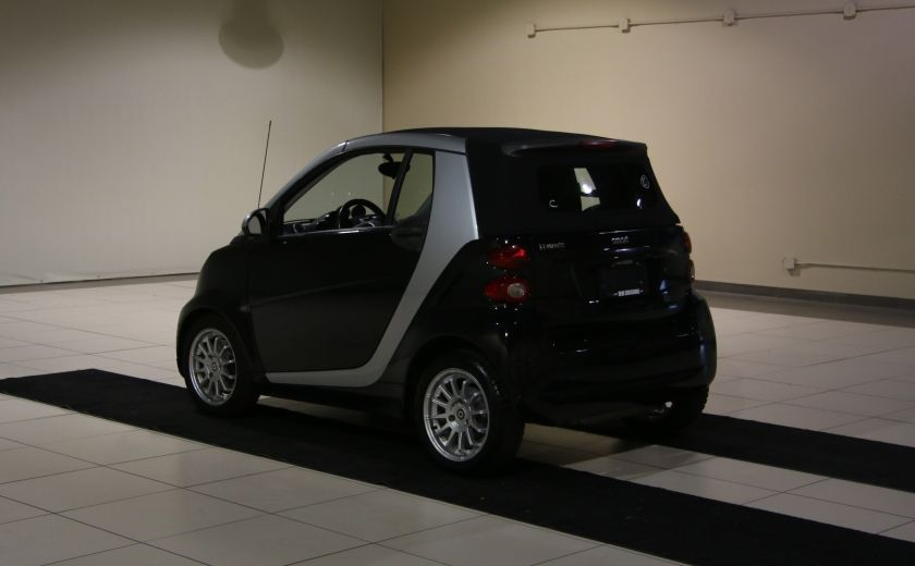 2012 Smart Fortwo CONVERTIBLE PASSION AUTO A/C GR ELECT NAV #8