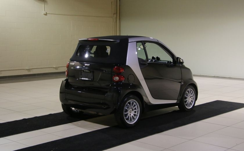 2012 Smart Fortwo CONVERTIBLE PASSION AUTO A/C GR ELECT NAV #10