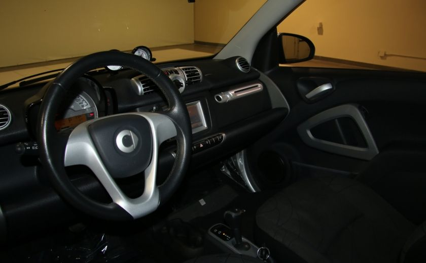 2012 Smart Fortwo CONVERTIBLE PASSION AUTO A/C GR ELECT NAV #11
