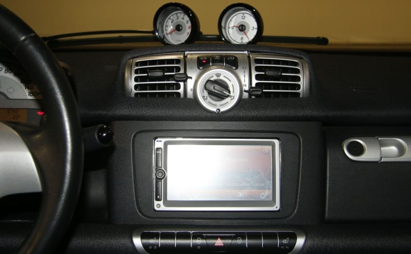 2012 Smart Fortwo CONVERTIBLE PASSION AUTO A/C GR ELECT NAV #17