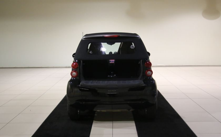 2012 Smart Fortwo CONVERTIBLE PASSION AUTO A/C GR ELECT NAV #25