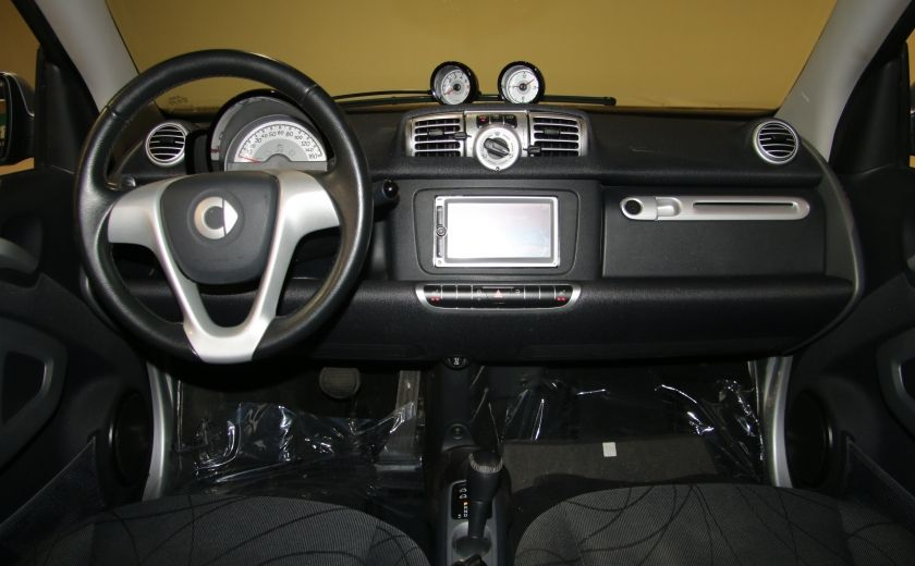 2012 Smart Fortwo CONVERTIBLE PASSION AUTO A/C GR ELECT NAV #14