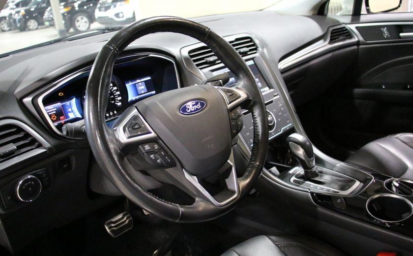 2013 Ford Fusion Titanium AWD CUIR TOIT NAC CAMERA RECUL #8