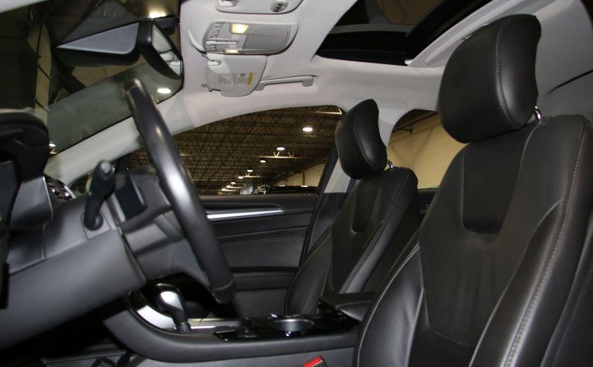2013 Ford Fusion Titanium AWD CUIR TOIT NAC CAMERA RECUL #9