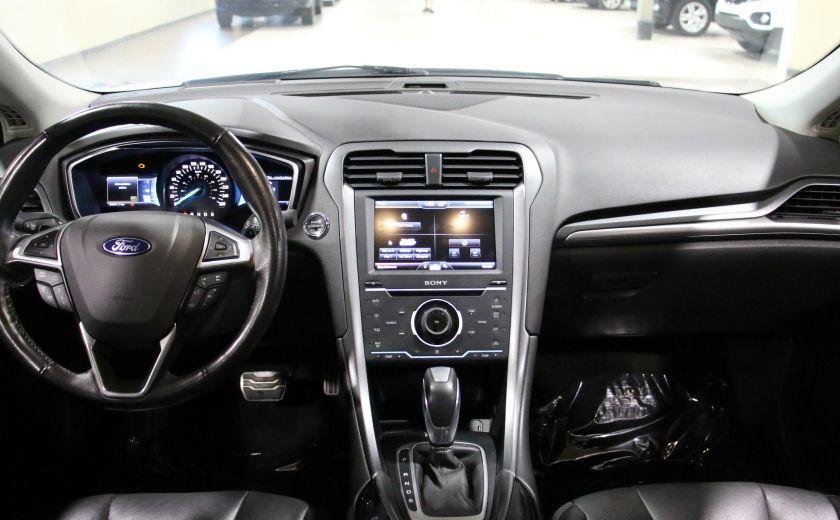 2013 Ford Fusion Titanium AWD CUIR TOIT NAC CAMERA RECUL #13