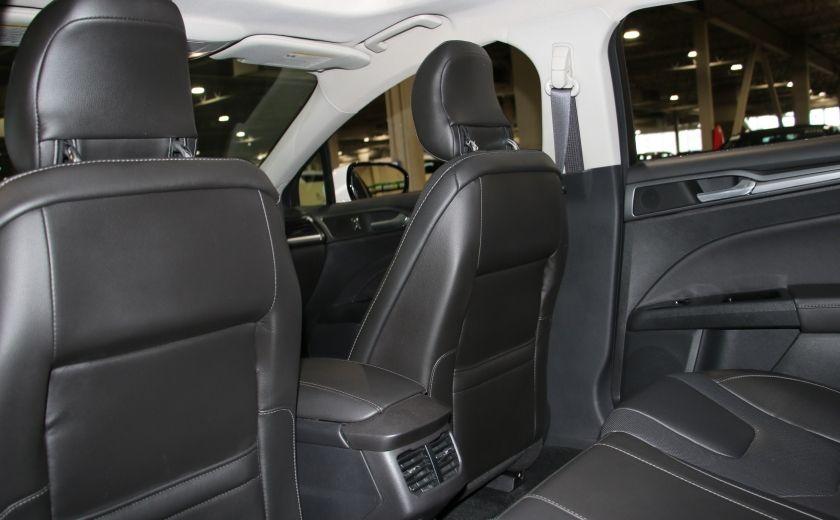 2013 Ford Fusion Titanium AWD CUIR TOIT NAC CAMERA RECUL #22