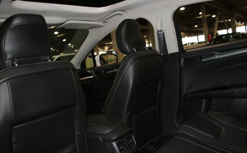 2013 Ford Fusion Titanium AWD CUIR TOIT NAC CAMERA RECUL #23