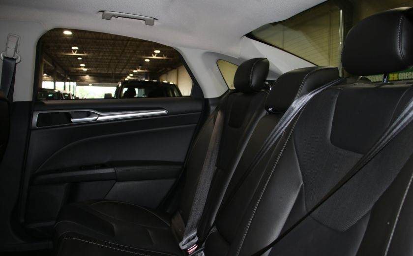 2013 Ford Fusion Titanium AWD CUIR TOIT NAC CAMERA RECUL #24