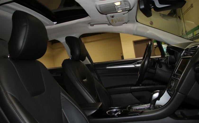 2013 Ford Fusion Titanium AWD CUIR TOIT NAC CAMERA RECUL #29
