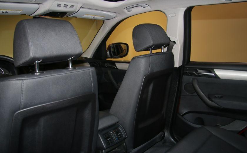 2013 BMW X3 28i AWD AUTO A/C CUIR TOIT MAGS #23