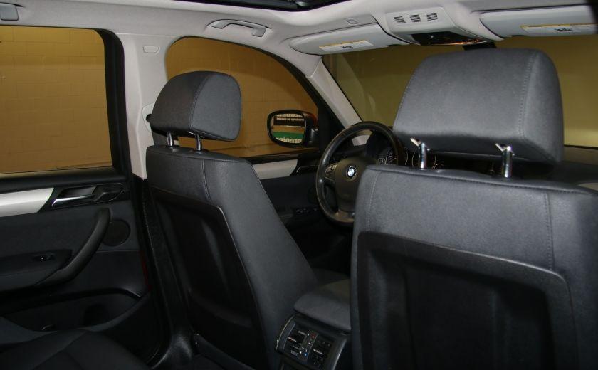 2013 BMW X3 28i AWD AUTO A/C CUIR TOIT MAGS #25