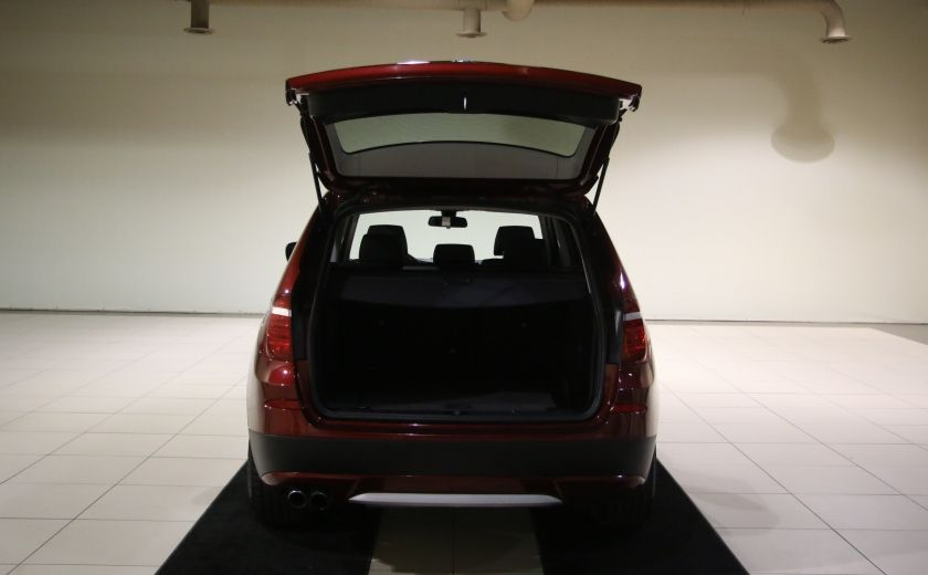 2013 BMW X3 28i AWD AUTO A/C CUIR TOIT MAGS #32