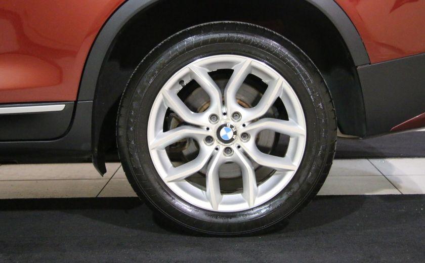 2013 BMW X3 28i AWD AUTO A/C CUIR TOIT MAGS #36