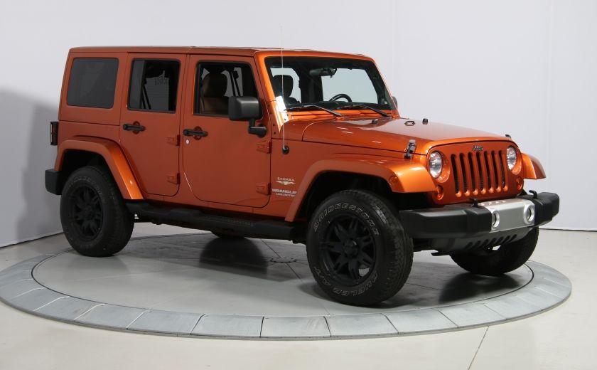 2011 Jeep Wrangler SAHARA 4WD CUIR NAV 2 TOIT #0