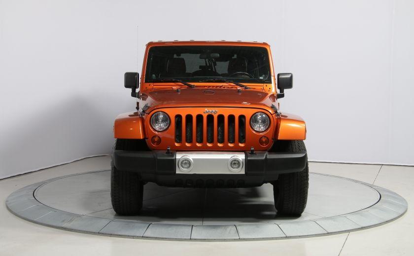 2011 Jeep Wrangler SAHARA 4WD CUIR NAV 2 TOIT #1
