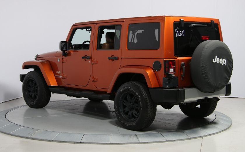 2011 Jeep Wrangler SAHARA 4WD CUIR NAV 2 TOIT #4