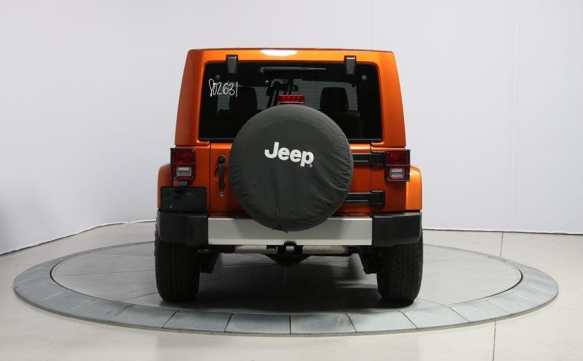 2011 Jeep Wrangler SAHARA 4WD CUIR NAV 2 TOIT #5