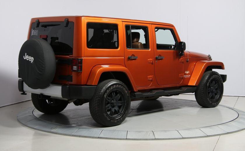 2011 Jeep Wrangler SAHARA 4WD CUIR NAV 2 TOIT #6