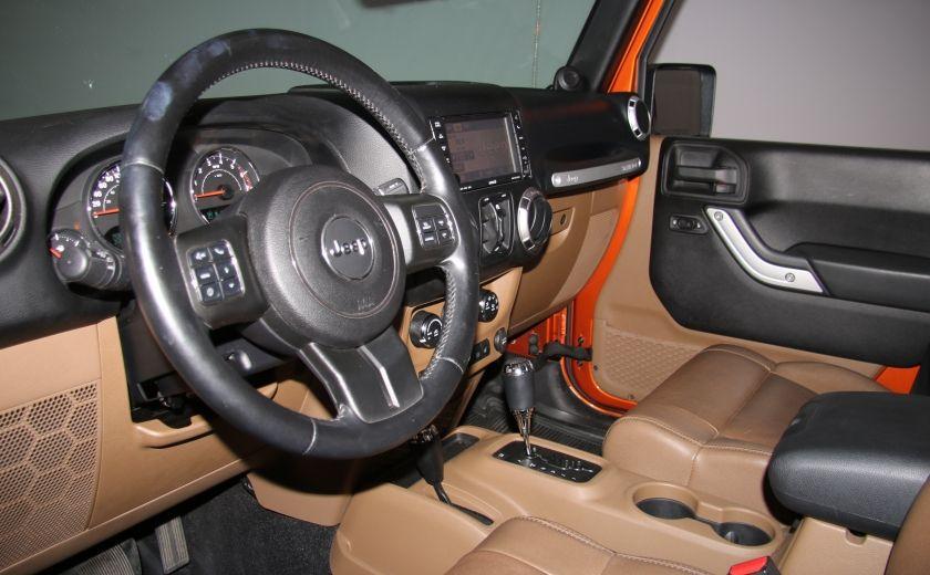 2011 Jeep Wrangler SAHARA 4WD CUIR NAV 2 TOIT #8