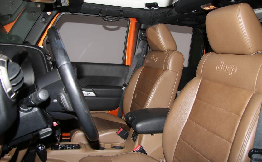 2011 Jeep Wrangler SAHARA 4WD CUIR NAV 2 TOIT #9