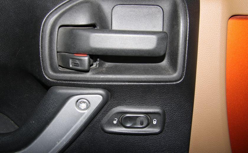 2011 Jeep Wrangler SAHARA 4WD CUIR NAV 2 TOIT #10