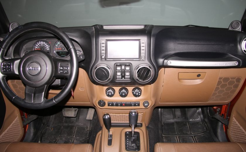 2011 Jeep Wrangler SAHARA 4WD CUIR NAV 2 TOIT #11