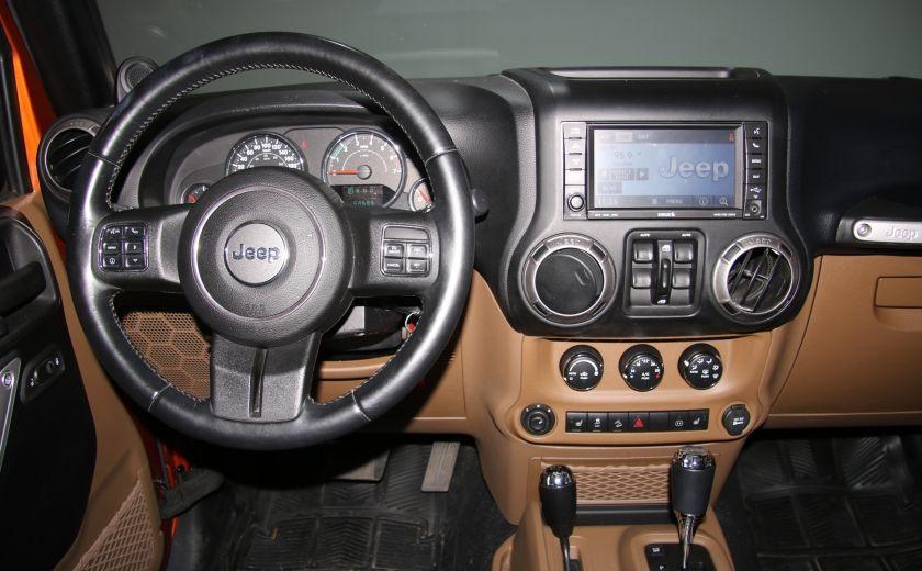 2011 Jeep Wrangler SAHARA 4WD CUIR NAV 2 TOIT #12