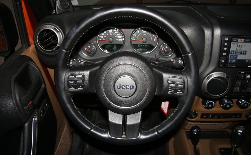 2011 Jeep Wrangler SAHARA 4WD CUIR NAV 2 TOIT #13