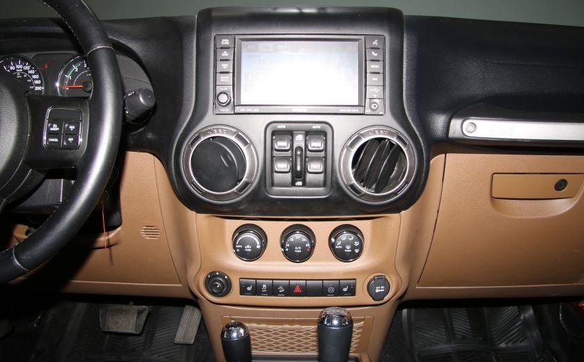 2011 Jeep Wrangler SAHARA 4WD CUIR NAV 2 TOIT #14