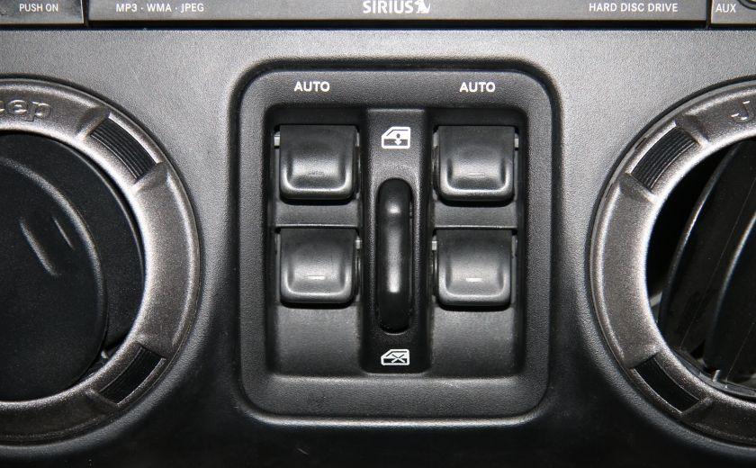 2011 Jeep Wrangler SAHARA 4WD CUIR NAV 2 TOIT #16