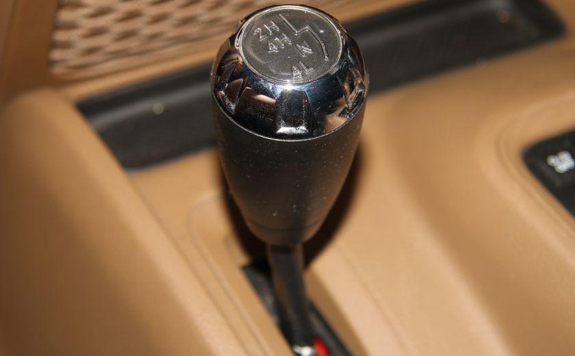 2011 Jeep Wrangler SAHARA 4WD CUIR NAV 2 TOIT #17