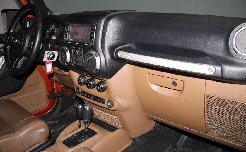 2011 Jeep Wrangler SAHARA 4WD CUIR NAV 2 TOIT #18