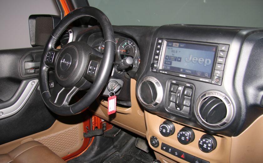2011 Jeep Wrangler SAHARA 4WD CUIR NAV 2 TOIT #19