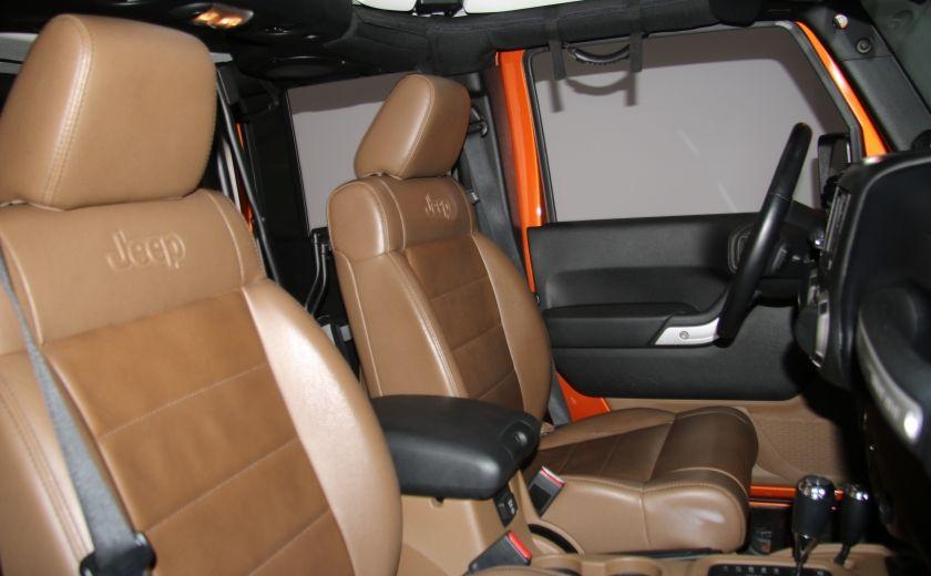 2011 Jeep Wrangler SAHARA 4WD CUIR NAV 2 TOIT #20