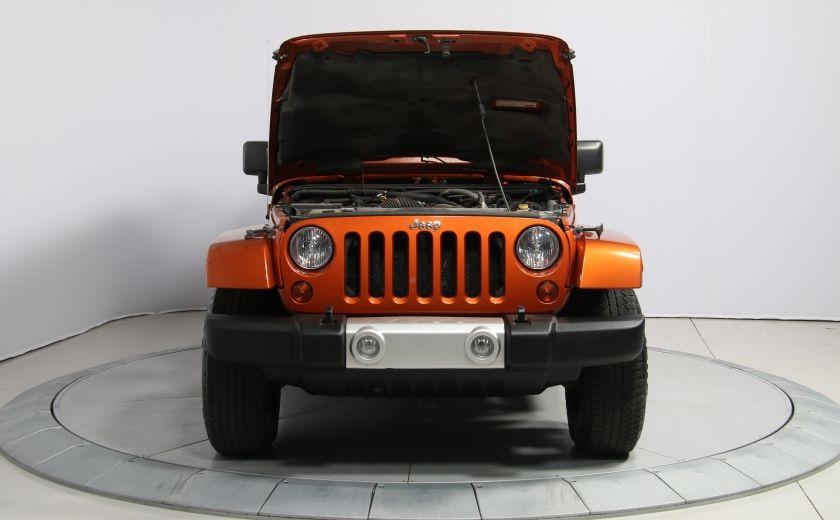 2011 Jeep Wrangler SAHARA 4WD CUIR NAV 2 TOIT #21