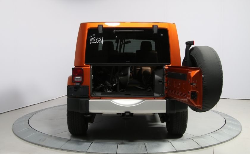 2011 Jeep Wrangler SAHARA 4WD CUIR NAV 2 TOIT #22