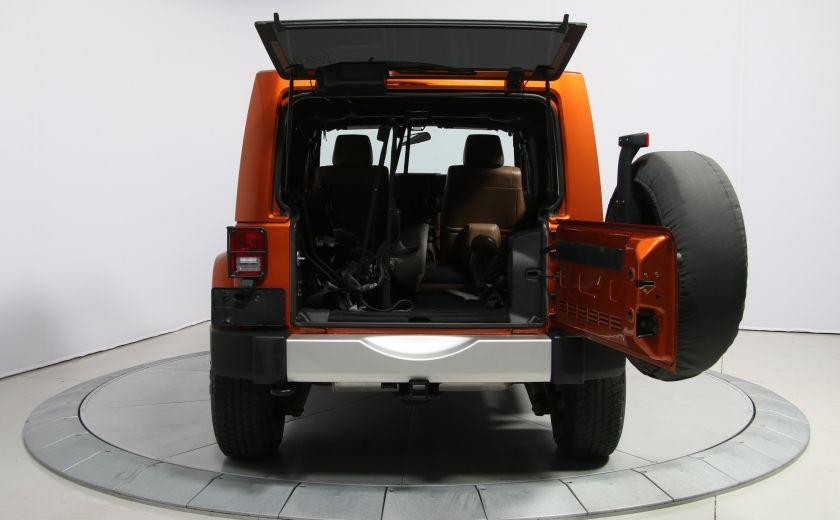 2011 Jeep Wrangler SAHARA 4WD CUIR NAV 2 TOIT #23