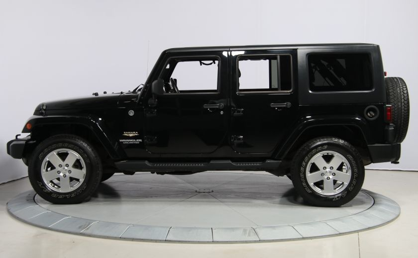 2011 Jeep Wrangler Sahara 2 TOITS #3