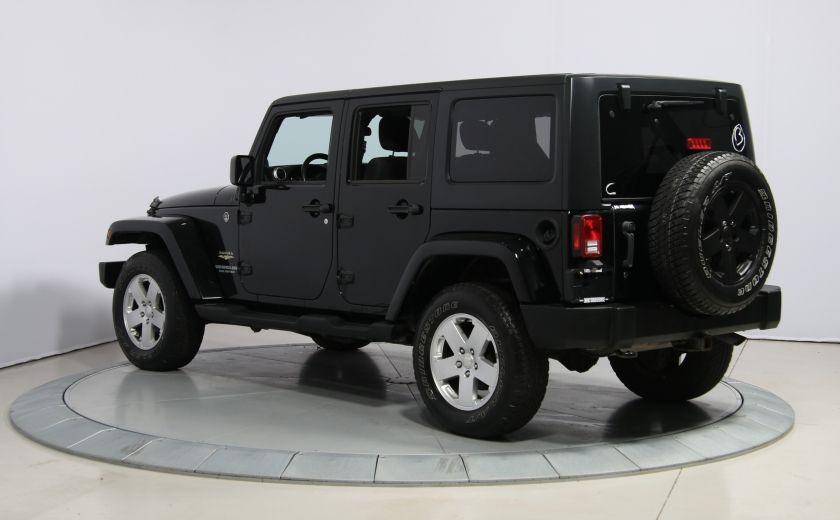2011 Jeep Wrangler Sahara 2 TOITS #4