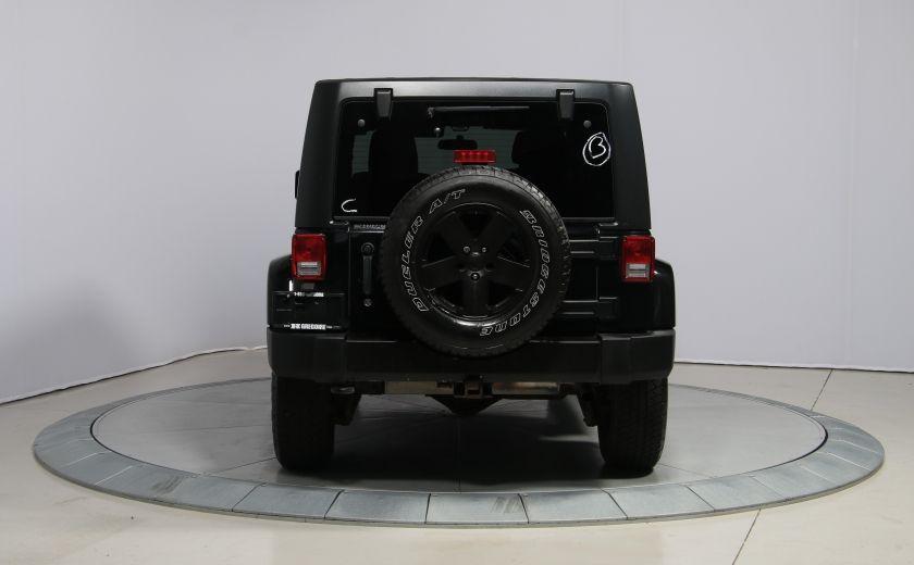 2011 Jeep Wrangler Sahara 2 TOITS #5