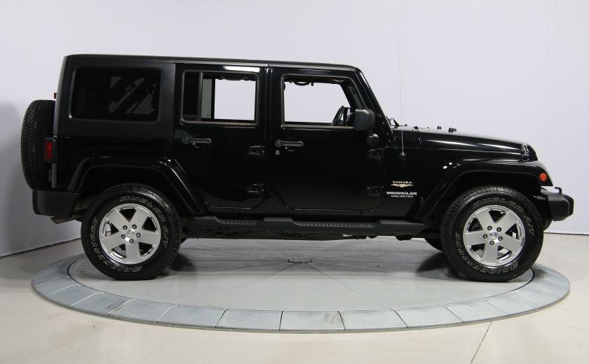 2011 Jeep Wrangler Sahara 2 TOITS #7