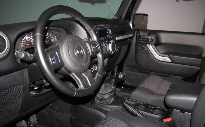 2011 Jeep Wrangler Sahara 2 TOITS #8