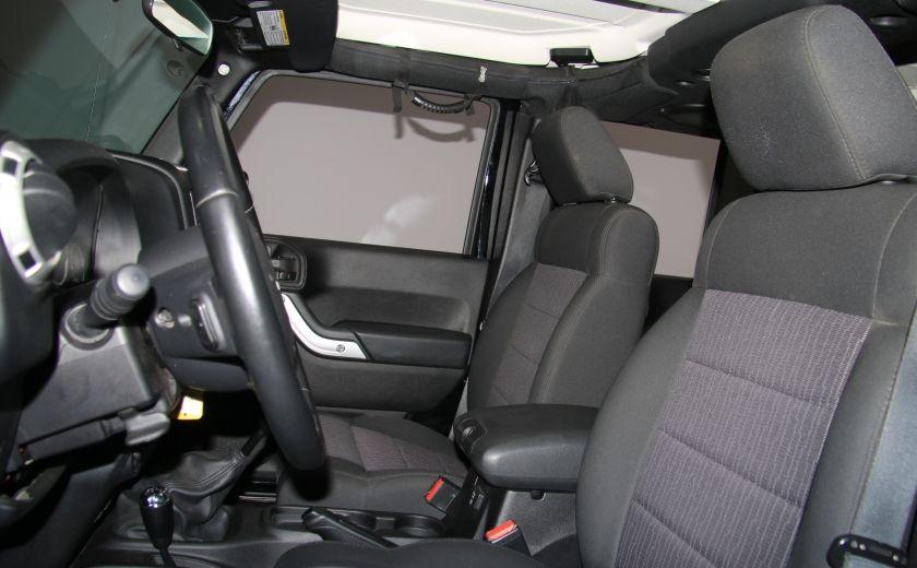 2011 Jeep Wrangler Sahara 2 TOITS #9